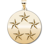 U S AirForce National Guard General of the Air Force Pendant
