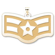 U S Air Force National Guard Airman First Class Pendant