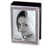White Glitter Photo Album