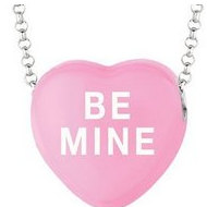 Sweethearts Enamel  Be Mine  16  Necklace with Gift Box