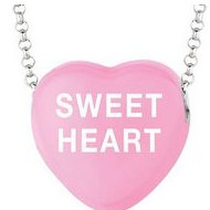 Sweethearts Enamel  Sweet Heart  16  Necklace with Gift Box