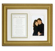 Your Anniversary  Poem and Photo Frame