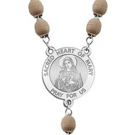 Sacred Heart of Mary Rosary Beads  EXCLUSIVE