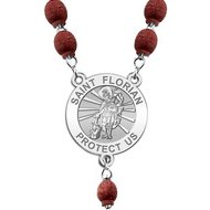 Saint Florian Rosary Beads  EXCLUSIVE
