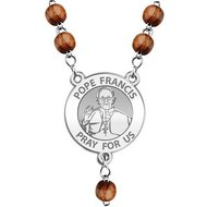 Pope Francis Rosary Beads  EXCLUSIVE