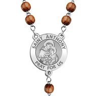 Saint Anthony Rosary Beads  EXCLUSIVE