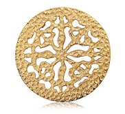 Nikki Lissoni Gold tone 1 1 4 Inch Nikkis Ancient Coin