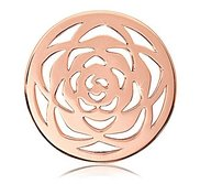Nikki Lissoni Rose tone 1 1 4 Inch Rose Coin