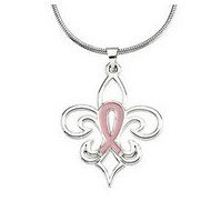 Pink Pourri Breast Cancer Awareness Pendant