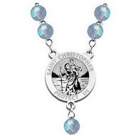 Saint Christopher Rosary Beads  EXCLUSIVE
