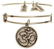Wind   Fire  OM  Expandable Bracelet