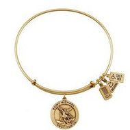 Wind   Fire  Saint Michael  Expandable Bracelet