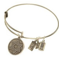Wind   Fire  Star Of David  Expandable Bracelet
