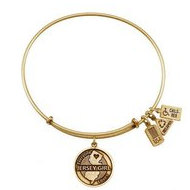 Wind   Fire  Jersey Girl Charm   Expandable Bracelet