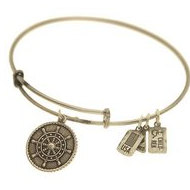 Wind   Fire  Ships Wheel  Expandable Bracelet