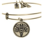Wind   Fire  RN Caduceus  Expandable Bracelet