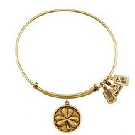 Wind   Fire  Shamrock  3 Leaf Clover   Expandable Bracelet