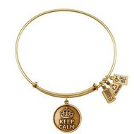 Wind   Fire  Keep Calm   Expandable Bracelet