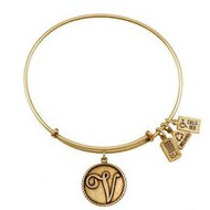 Wind   Fire  Love Letter  V  Charm  Expandable Bracelet