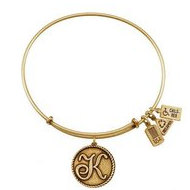 Wind   Fire  Love Letter  K  Charm  Expandable Bracelet