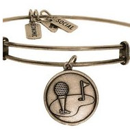 Wind   Fire  Golf Putting Green  Expandable Bracelet