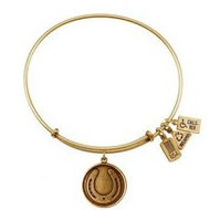 Wind   Fire  Horseshoe Charm  Expandable Bracelet