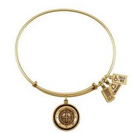 Wind   Fire  Roulette Wheel Charm  Expandable Bracelet
