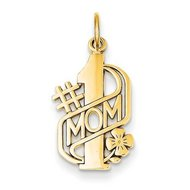 14k Yellow Gold  1 Mother Pendant