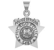 Personalized Chicago Police Badge w  Your Name or Rank and Number