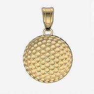 Engravable Golf Ball Disc Medal