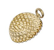 Flat Back Golf Ball Charm