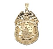 Personalized United States Capitol Police Badge w  Your Number