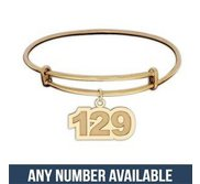 Bring Back Our Girls  Expandable Bracelet w  Number Charm