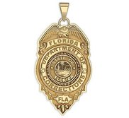 Personalized Florida State Correction Officer Police Badge w  Your Badge Number