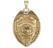 Personalized Florida Police Badge w  Your Name  Rank  Number   Department