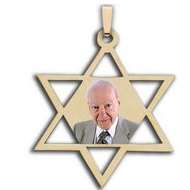 &quot;Star Of David&quot; Photo Pendant or Charm