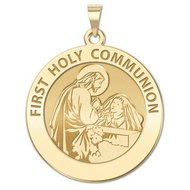 First Holy Communion Religious Medal  for a Girl   EXCLUSIVE
