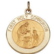 First Holy Communion Religious Medal