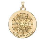 Confirmation Religious Medal    Holy Spirit   EXCLUSIVE
