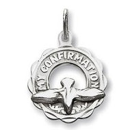 My Confirmation  Dove Cut out  Religious Medal