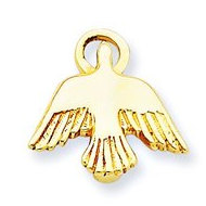 14k Yellow Gold Holy Spirit Pendant