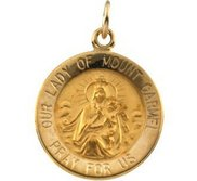 Our Lady of Mt Carmel Religious Medal