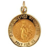 Immaculate Conception Religious Medal