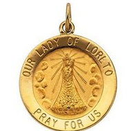 Our Lady of Loreto Religious Medal