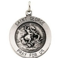 Saint George Religious Medal