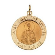 Saint James Religious Medal