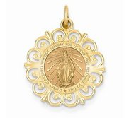 Round Filigree Miraculous Medal  EXCLUSIVE