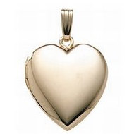 14K Gold Filled General Heart Locket