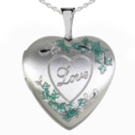 Sterling Silver  Love  Locket