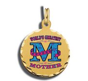 Mother s Day Worlds Greatest Mom Charm